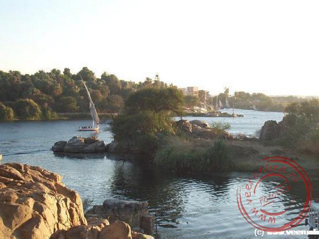 De Nijl op haar mooist in Aswan