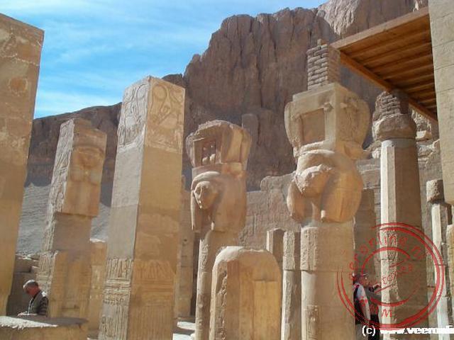 De tempel van Hatsjepsoet