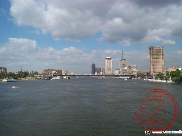 De Nijl rivier in Cairo