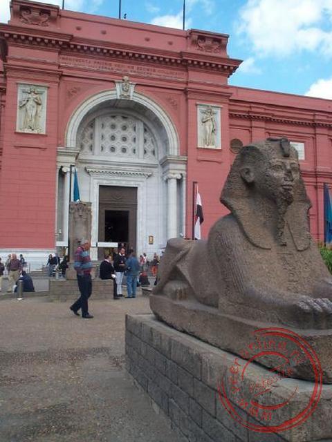 Het Egyptisch Museum in Cairo