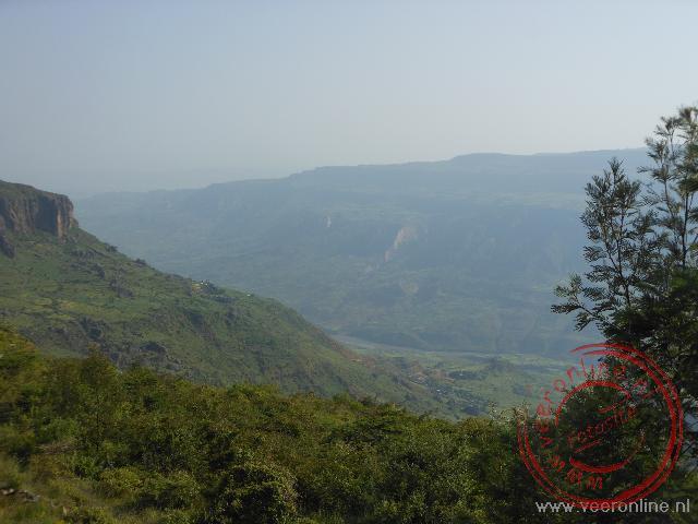 Het groene landschap van Ethiopië