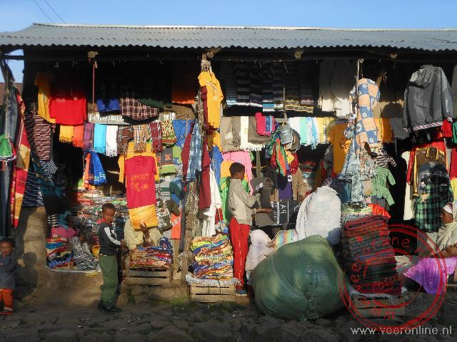 De lokale markt in Debark
