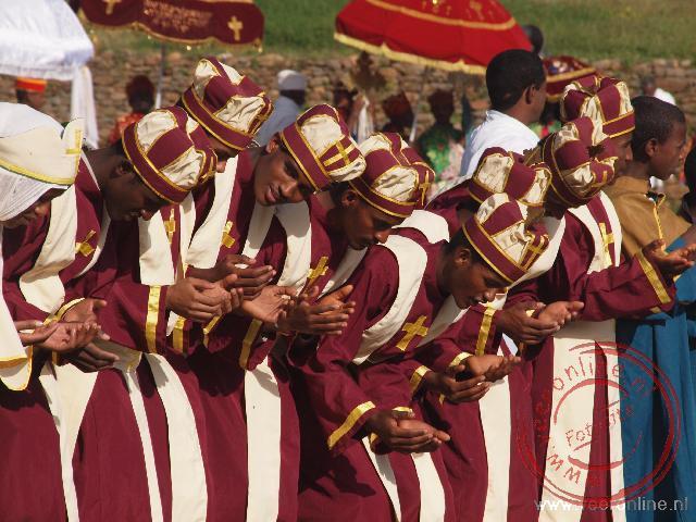 Het Meskel festival in Axum