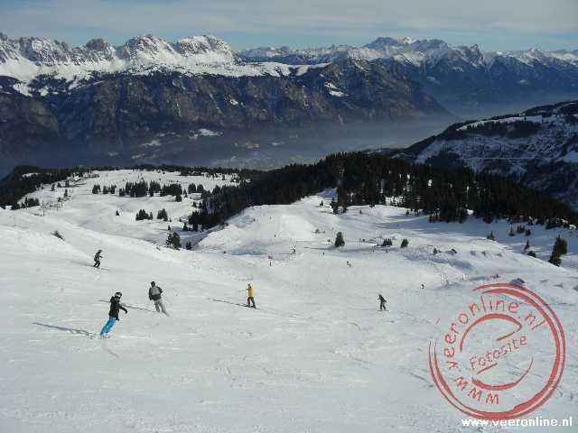 De pistes van de Prodkamm op 1.939 meter hoogte