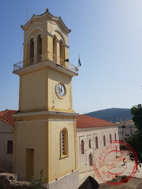 De kerk van Amfilochia