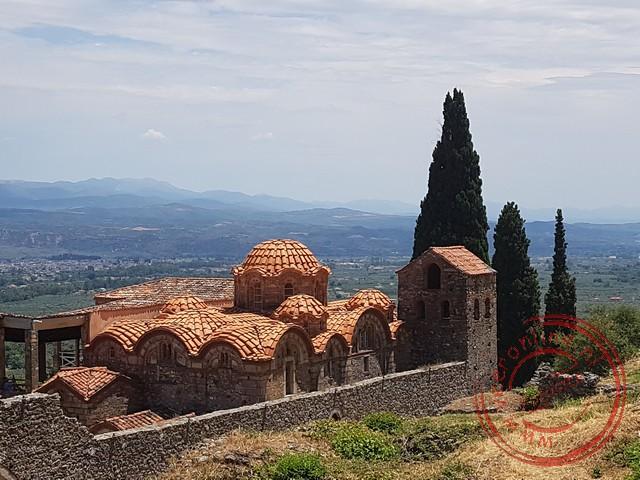 De oudste kerk van Mystras