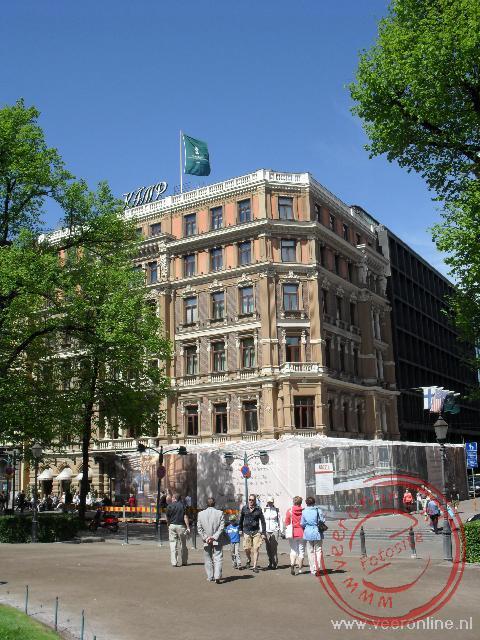 Het meest luxe hotel van de stad: Hotal Kämp