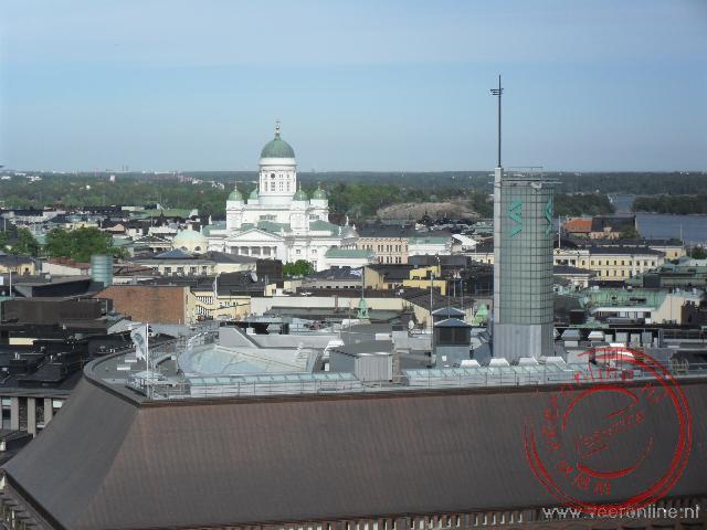 De Domkerk gezien vanaf het dakterras van Hotel