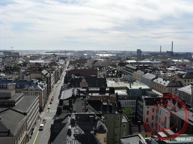 Uitzicht vanuit de toren van de Domkerk
