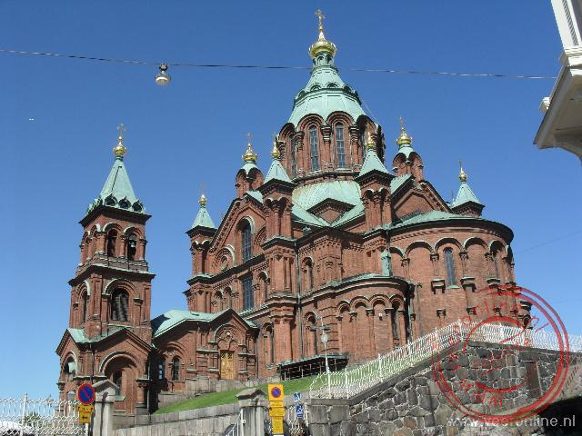 Stedentrip Helsinki - De Uspenski Orthodox Cathedral