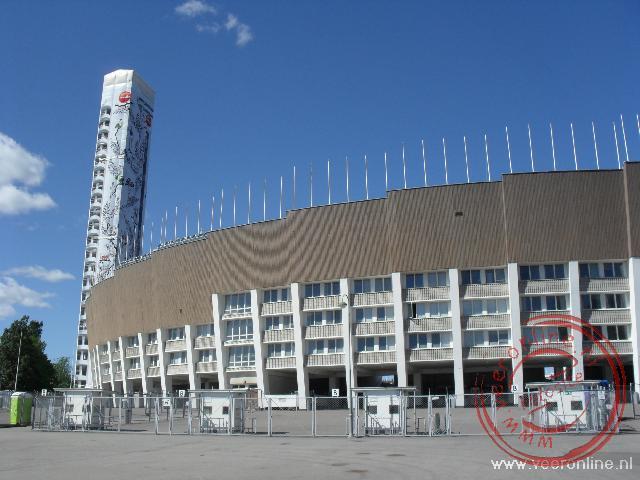 Het stadion van Helsinki