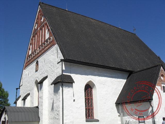 Het dak van de kathedraal van Porvoo