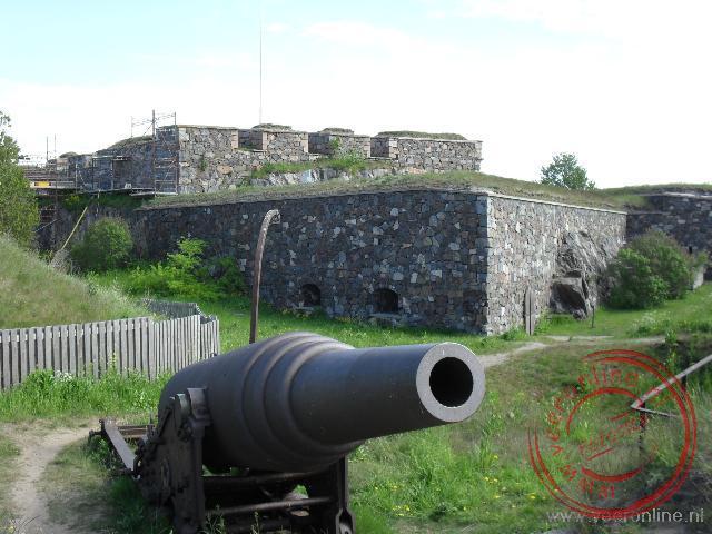 Vroeger moest dit fort de stad Helsinki verdedigen