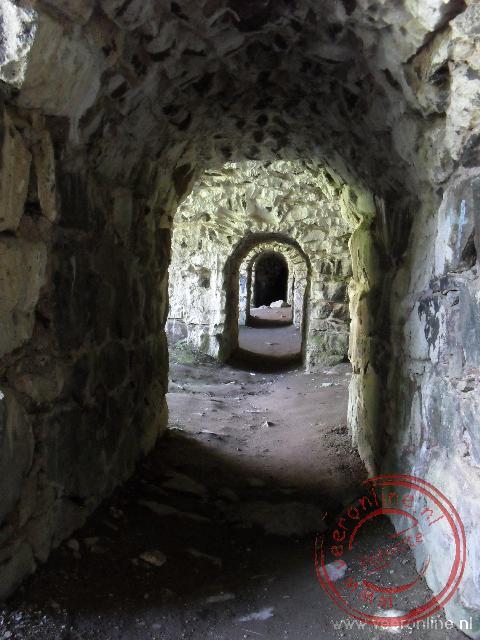 Ondergrondse gangen in het fort