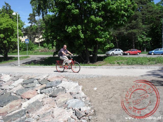 Helsinki is zeer fietsvriendelijk