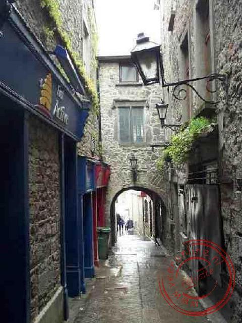 De smalle straatjes van het middeleeuwse Kilkenny
