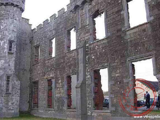 De ruine van Ballyheigue