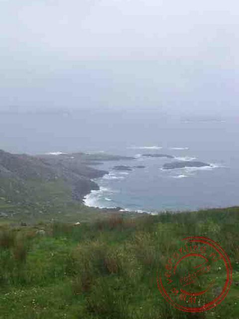 Het uitzicht tijdens de Ring of Kerry