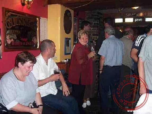 s Avonds in het cafe in Ennistymon
