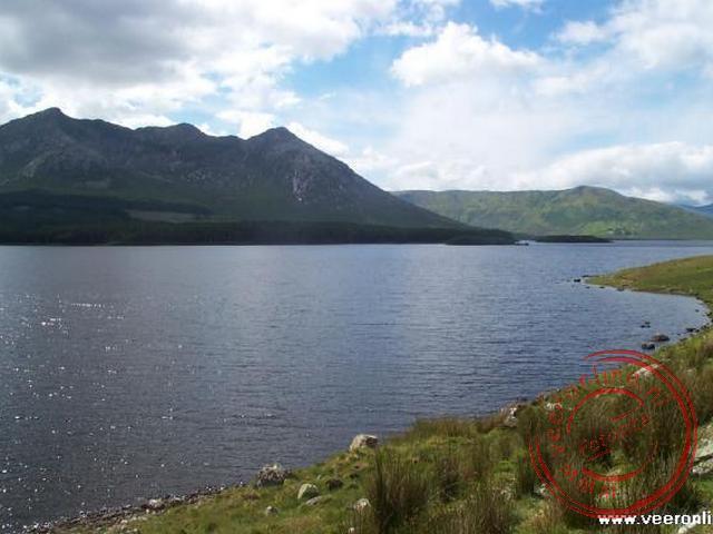 Het meer in de Connemara