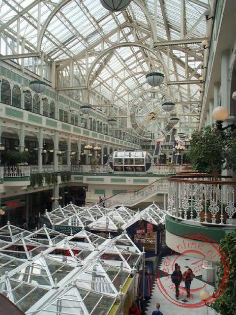 Het St Stephen s Green Shopping Center in Dublin