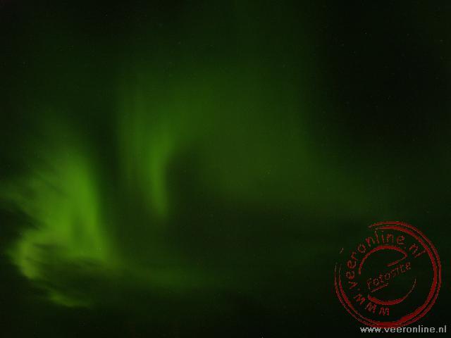 Het noorderlicht (Northern ligth) bij Mývatn op IJsland