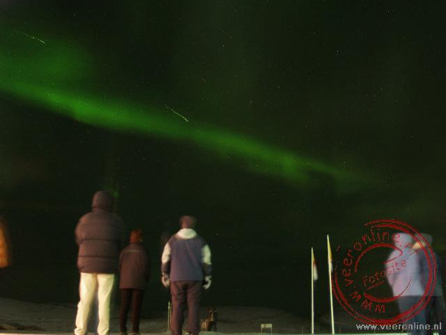 Genieten van het prachtige noorderlicht op IJsland