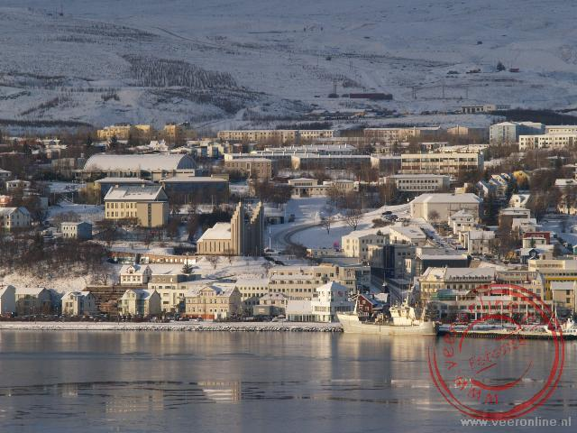 Het stadje Akureyri