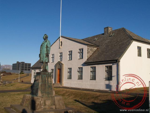 Het Althing is het parlementsgebouw in Reykjavik