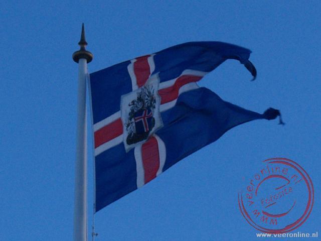 De IJslandse vlag