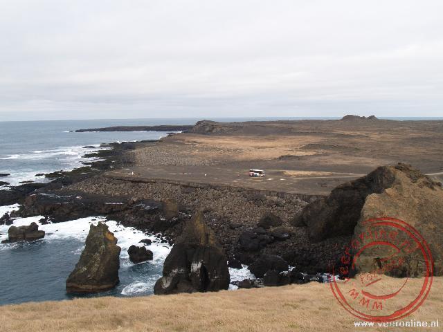 Reykjanesviti is een uitgestrekt vogelgebied