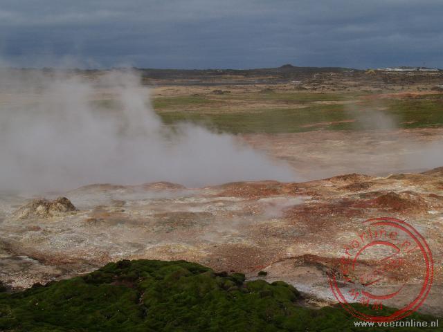 Het geothermische veld van Reykjanestá