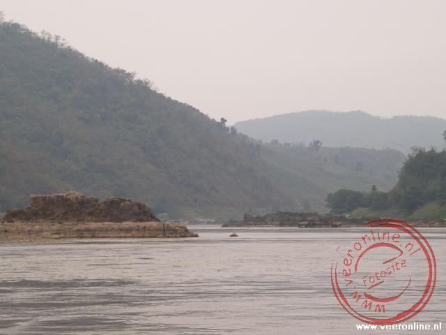 Varen over de Mekong Rivier