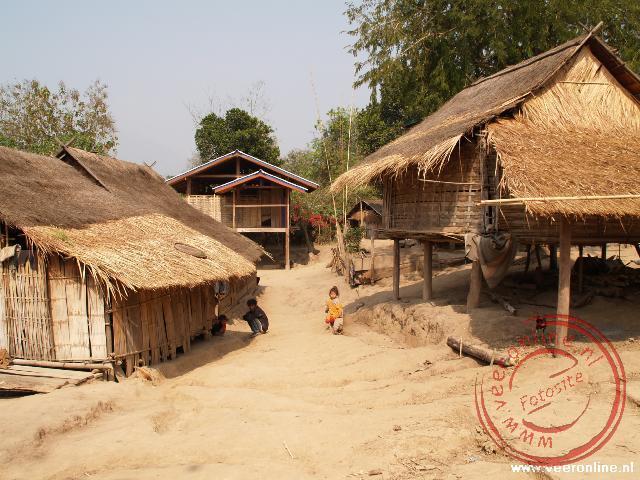 Het dorpje Bantone vlak bij Luang Prabang