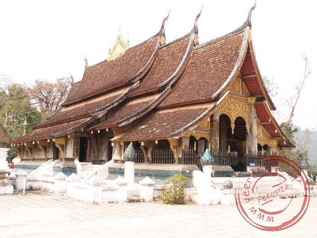 De Wat Xieng Thong is de belangrijkste tempel van Luang Prabang