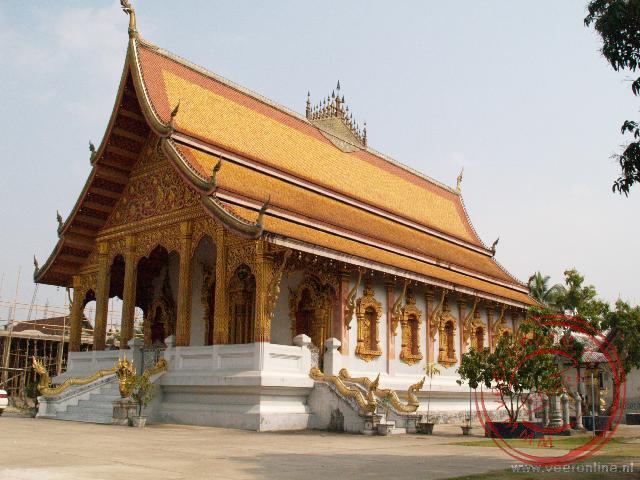 De Wat Xieng Muan is een kleinere elegante tempel