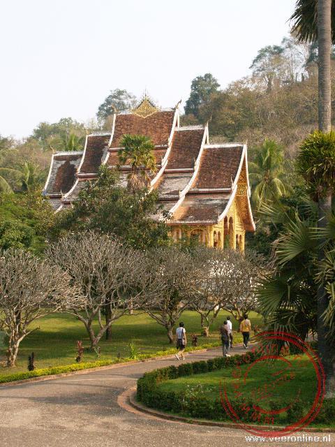Tempel in het Koninklijk paleis in Luang Prabang