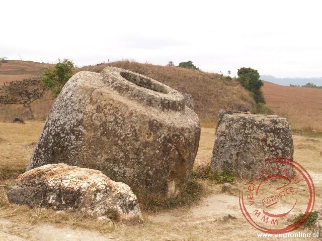 De grootste kruik heeft een doorsnede van 2½ meter en is ook ruim twee meter hoog