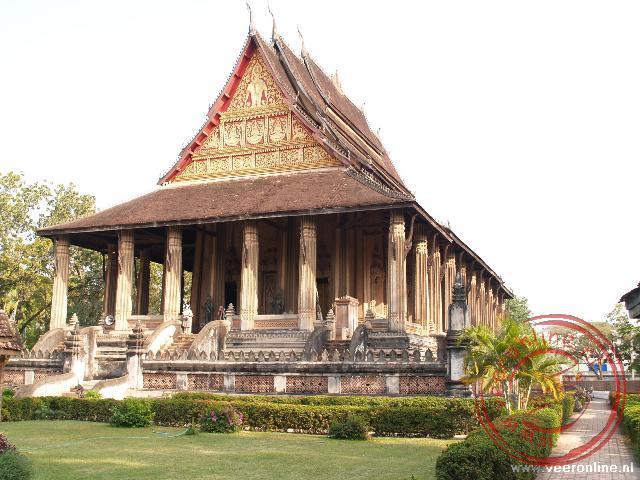 De tempel Wat Phra Keo deed vroeger dienst als gebedshuis van de koning. Momenteel is het een museum