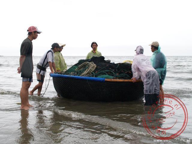 Een eenvoudige vissersboot