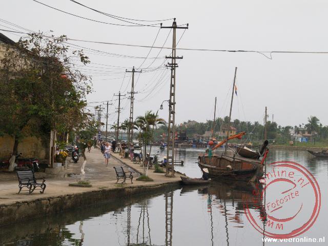 De waterkant van Hoi An