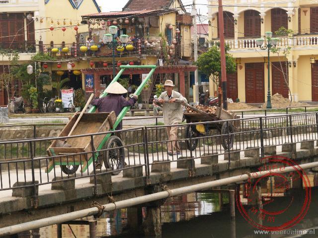 De brug in Hoi An