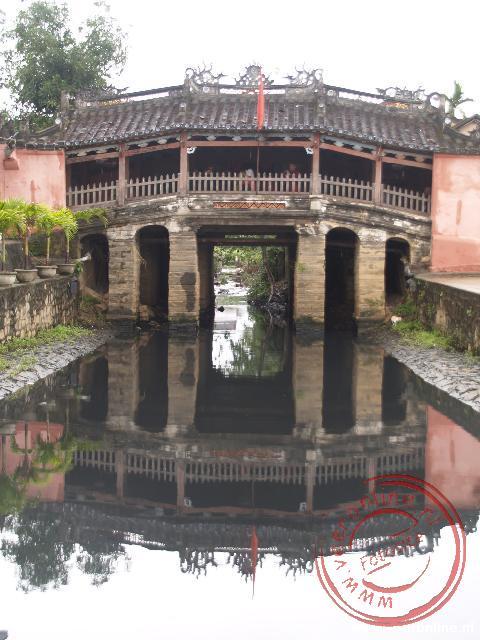 De Japanse brug in Hoi An