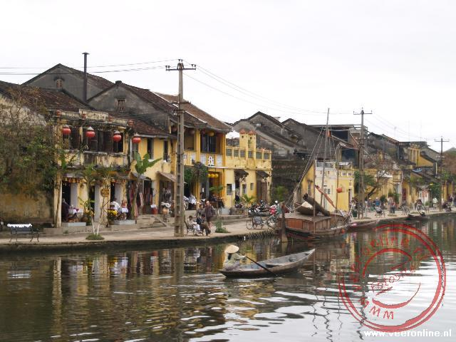 De haven van Hoi An