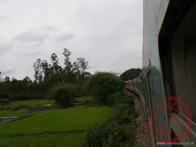De trein naar Ho Chi Minh
