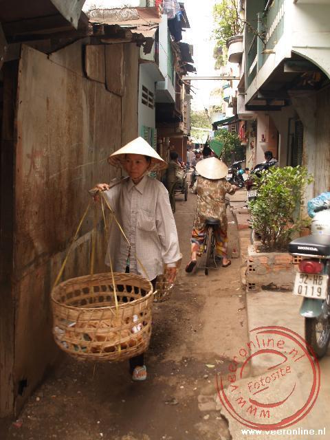 De martk van Ho Chi Minh Stad