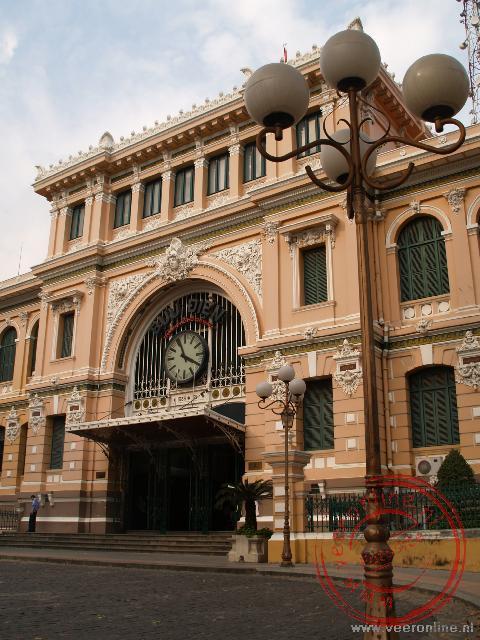 Het hoofdpostkantoor in Franse stijl