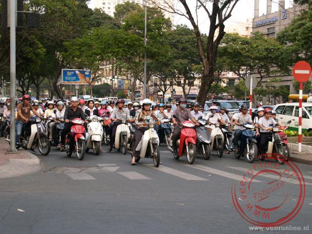 Brommers in Ho Chi Minh