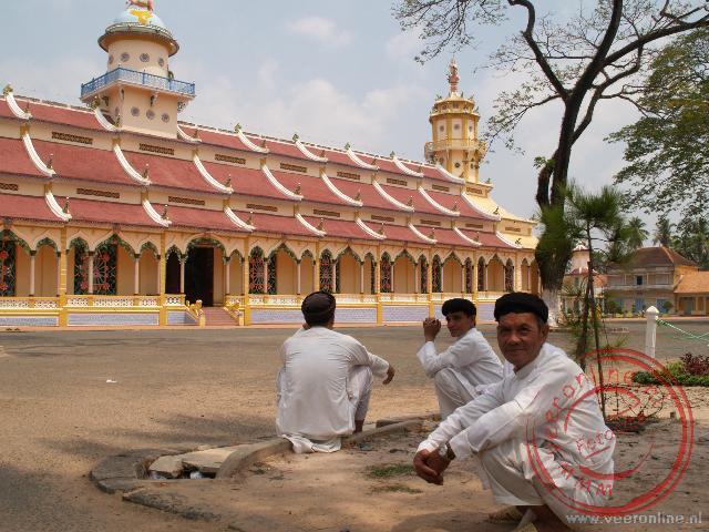 De heilige grote tempel van de Tay Ninh