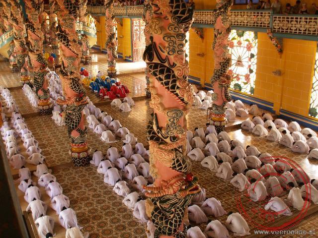 De Tay Ninh tempel